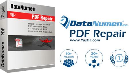 دانلود DataNumen PDF Repair - نرم افزار تعمیر فایل های PDF