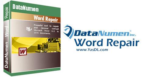 دانلود DataNumen Word Repair - نرم افزار تعمیر فایل های Word
