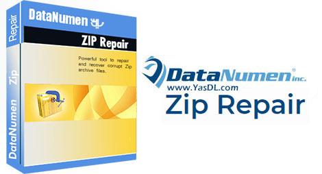 دانلود DataNumen Zip Repair - نرم افزار تعمیر فایل های فشرده