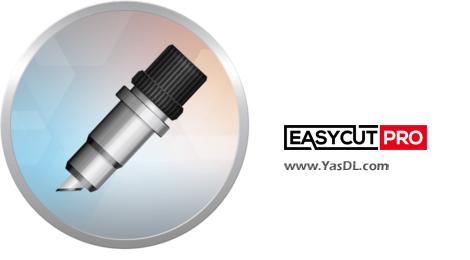 دانلود EasyCut Pro 5.107 x86/x64 + Portable - نرم افزار طراحی نماد، لوگو، استیکر از نوع وکتور