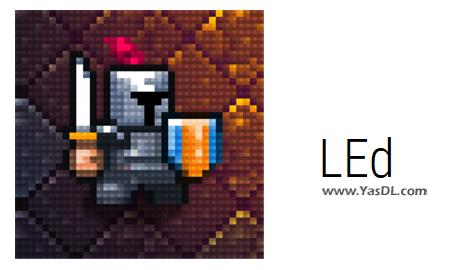 دانلود LEd 0.4.0 Beta - نرم افزار ساخت و ویرایش مپهای 2 بعدی در بازیهای رایانهای