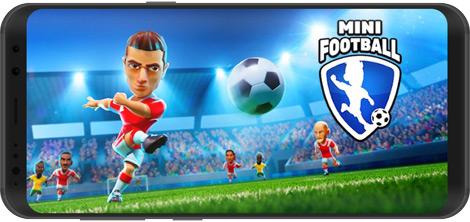 دانلود بازی Mini Football 1.0.7 - مینی فوتبال برای اندروید + نسخه بی نهایت