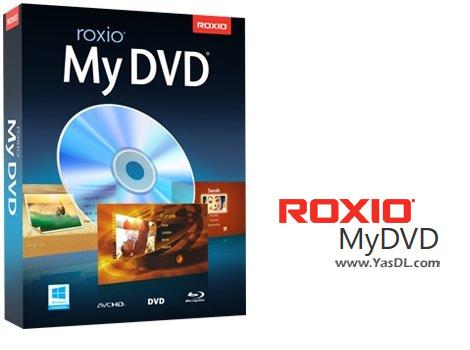 دانلود Roxio MyDVD 3.0.154.0 - نرم افزار ساخت و رایت DVD