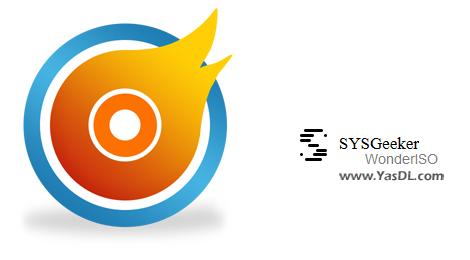 دانلود SYSGeeker WonderISO 4.7.2 - نرم افزار مدیریت و رایت ایمیجهای ISO