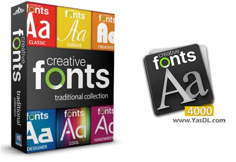 دانلود Summitsoft Creative Fonts Collection 2020.1 - مجموعه فونت خلاقانه انگلیسی