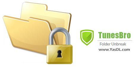 دانلود TunesBro Folder Unbreak 11.5.0 - نرم افزار مخفیسازی و رمزگذاری اطلاعات
