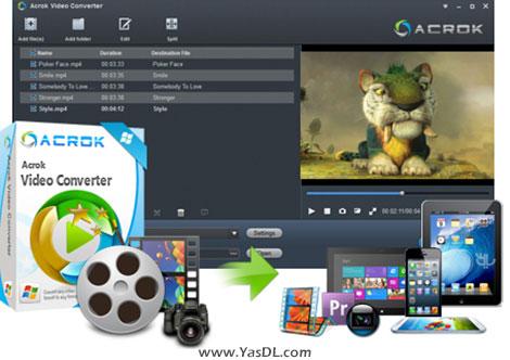 Acrok Video Converter - نرم افزار تبدیل فرمت فیلم