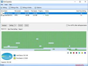دانلود Glary Disk SpeedUp - نرم افزار دیفرگ و افزایش سرعت هارد