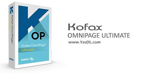 Kofax OmniPage Ultimate - نرم افزار تبدیل PDF و عکس به متن قابل ویرایش
