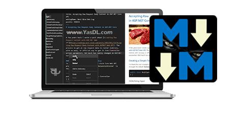 Markdown Monster 1.26.3 - نرم افزار ویرایشگر مارک داون