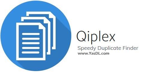 دانلود Qiplex Speedy Duplicate Finder 1.2.1 - جستجو پیدا کردن سریع فایلهای تکراری