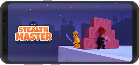 دانلود بازی Stealth Master - Ninja Killer 1.7.5 - استاد نینجا برای اندروید + نسخه بی نهایت