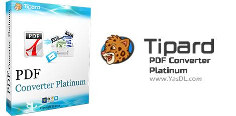 Tipard PDF Converter Platinum - نرم افزار تبدیل فرمت فایل های PDF