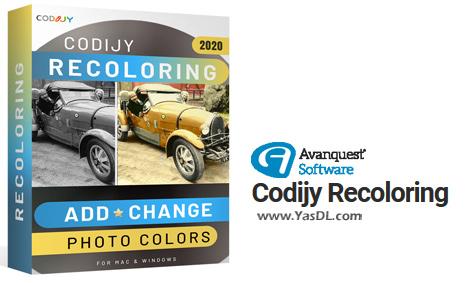 دانلود CODIJY Recoloring 4.0.0 - نرم افزار رنگی کردن تصاویر سیاه و سفید