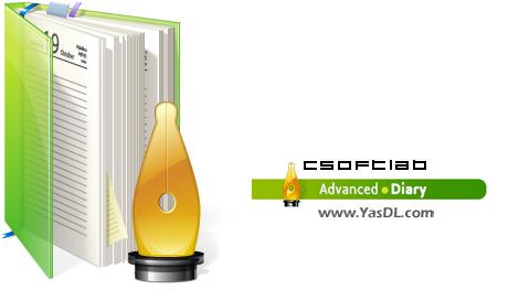 دانلود CSoftLab Advanced Diary 5.5.1 - نرم افزار دفترچه خاطرات آنلاین