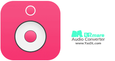 دانلود DRmare Audio Converter 2.4.0.24 - نرم افزار تبدیل فرمتهای صوتی
