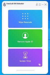 FoneLab iOS Unlocker - نرم افزار باز کردن قفل دستگاه های iOS اپل