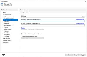 Automatic Email Processor - نرم افزار ذخیره و چاپ خودکار ایمیل ها