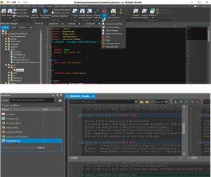IDM UEStudio - نرم افزار ادیتور متن