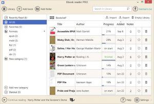 Icecream Ebook Reader Pro - نرم افزار خواندن کتاب های الکترونیکی EPUB
