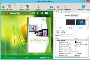 Next FlipBook Maker Pro 2.7.9 - نرم افزار ساخت فلیپ بوک