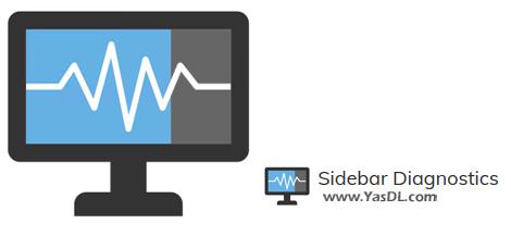 دانلود Sidebar Diagnostics 3.5.7 - نمایش اطلاعات جامع از سیستم در دسکتاپ