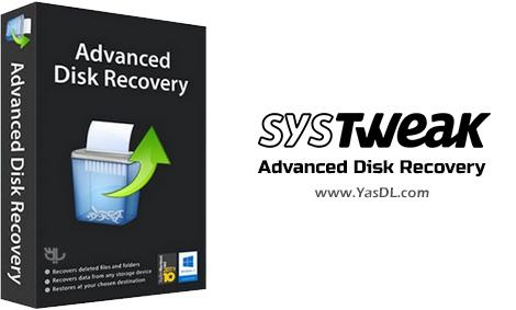 Systweak Advanced Disk Recovery - نرم افزار ریکاوری فایل های حذف شده