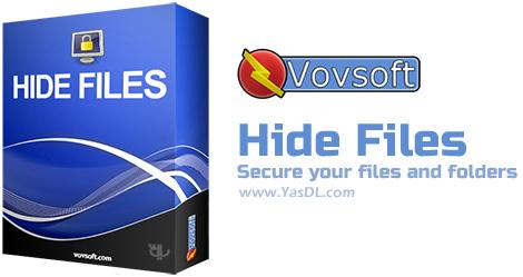 VovSoft Hide Files - نرم افزار مخفی کردن فایل ها و فولدر ها