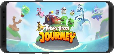 دانلود بازی Angry Birds Journey 1.0.0 - سفر با انگری بردز برای اندروید + نسخه بی نهایت