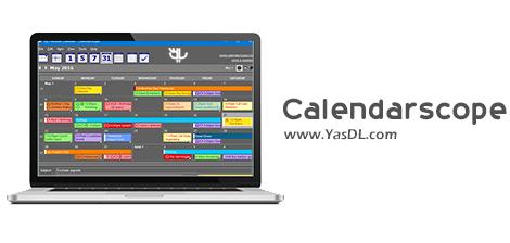 دانلود Calendarscope 11.0.4 - نرم افزار تقویم و مدیریت امور