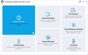 دانلود Coolmuster Mobile Transfer 2.4.46 - نرم افزار انتقال کامل اطلاعات از موبایل قدیمی به موبایل جدید