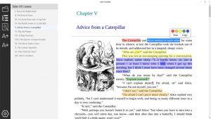 Eve Reader.cover1  300x169 - دانلود Eve Reader 0.2.0 - نرم افزار مطالعه کتابهای الکترونیکی (ePub) در ویندوز