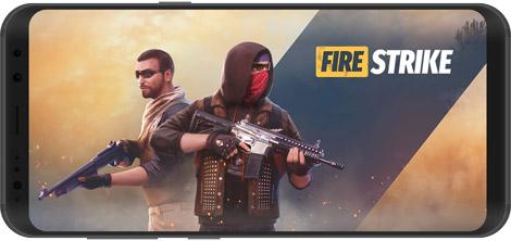 دانلود بازی Fire Strike Online - Free Shooter FPS 1.65 - تیراندازی اول شخص برای اندروید + دیتا + نسخه بی نهایت
