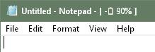 Title Bar Battery.cover1  - دانلود Title Bar Battery 1.0.0 Build 1 - نمایش میزان باقی مانده از باتری لپ تاپ در پنجرههای ویندوز