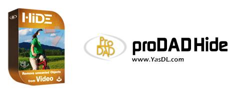 proDAD Hide - نرم افزار حذف اشیا از فیلم