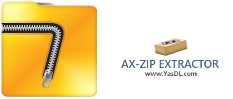 دانلود AX-ZIP Extractor 4.5 x86/x64 - فایل اکسپلورر قوی برای جستجو و دسترسی به محتوای فشرده