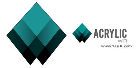 دانلود Acrylic Wi-Fi Analyzer Home 4.5.7716.24042 - نرم افزار مشاهده و مدیریت شبکههای بیسیم
