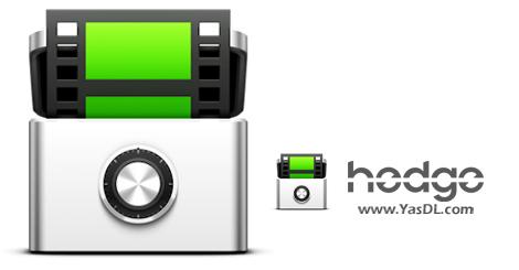 دانلود Hedge 21.1.629 x64 - ابزار پشتیبانگیری از فرمتهای مدیا
