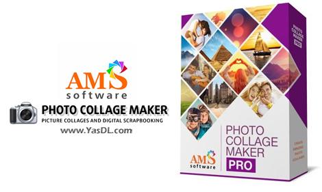 دانلود AMS Software Photo Collage Maker Pro 7.0 - نرم افزار ساخت تصاویر کلاژ