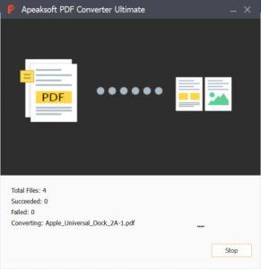 Apeaksoft PDF Converter.cover2  291x300 - دانلود Apeaksoft PDF Converter Ultimate 1.0.10 - نرم افزار تبدیل اسناد PDF