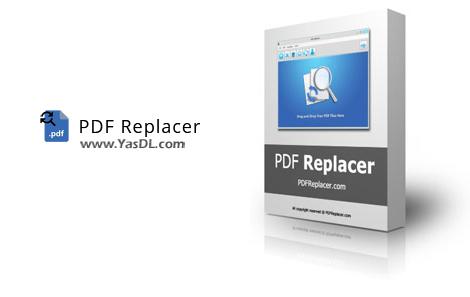 دانلود PDF Replacer Pro 1.8.5 - جایگزینی متن در فایلهای PDF