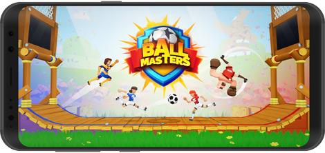 دانلود بازی Ballmasters: 2v2 Ragdoll Soccer 0.4.2 - اساتید فوتبال برای اندروید + نسخه بی نهایت