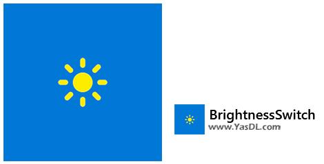 دانلود BrightnessSwitch 1.1.1.0 - سوئیچ بین تم Dark/Light در ویندوز