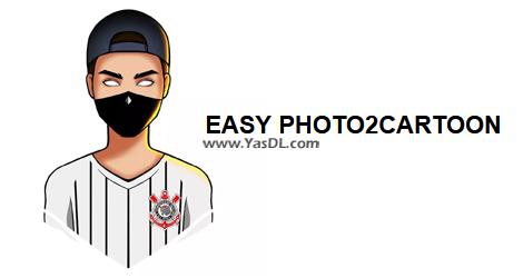 دانلود Easy Photo2Cartoon Lite 1.77 + Portable - تبدیل عکس به کارتون