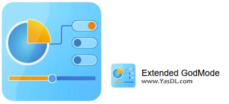 دانلود Extended GodMode 1.0.2.14 - دسترسی سریع به تنظیمات پیشرفته ویندوز