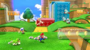 Super Mario 3D World1 300x169 - دانلود بازی Super Mario 3D World + Bowser's Fury – v1.1.0 + Yuzu Emu برای PC