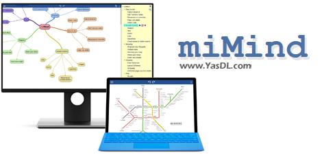 دانلود miMind Pro 2.90 - نرم افزار ترسیم نقشههای ذهنی