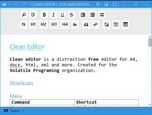Clean Editor.cover1  300x226 - دانلود Clean Editor 1.0.1 - نرم افزار رایگان و متن باز در زمینه ویرایش متن