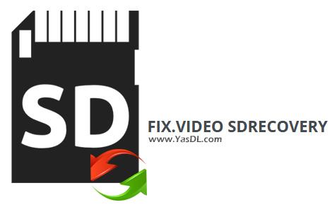دانلود Fix.Video SDRecovery 2.0 - نرم افزار بازیابی اطلاعات حذف شده از مموری کارت