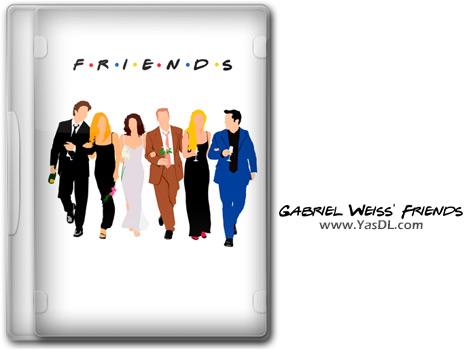 دانلود فونت فرندز (Friends)؛ مخصوص دوستداران این سریال تلویزیونی محبوب و پرطرفدار